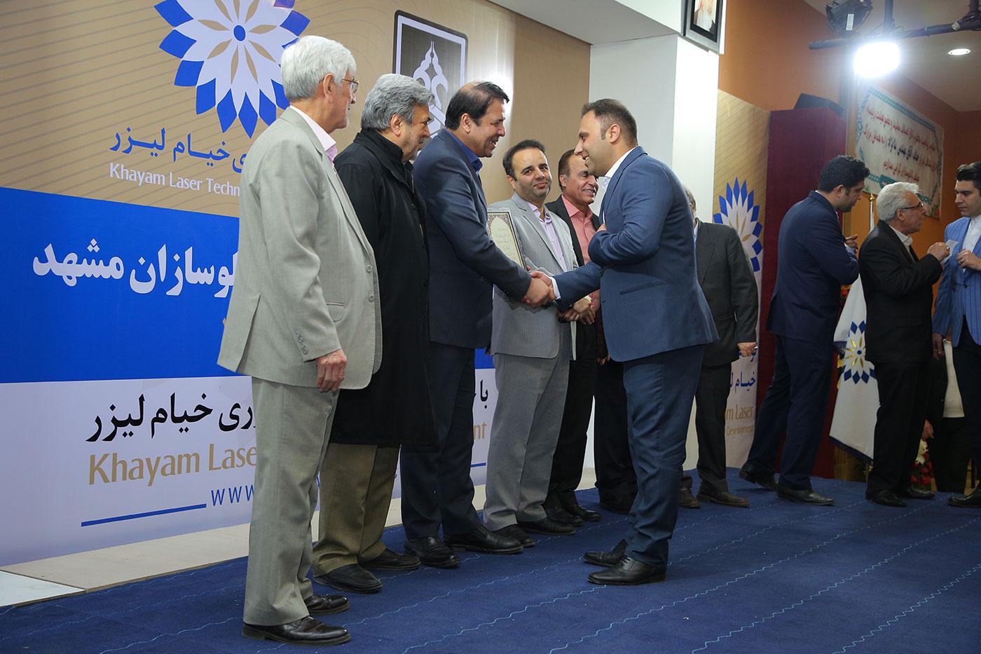 سومین همایش سالانه اتحادیه تابلو سازان مشهد بهمن 98